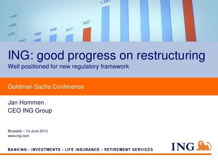 ING Goldman Sachs Conference in Brussels