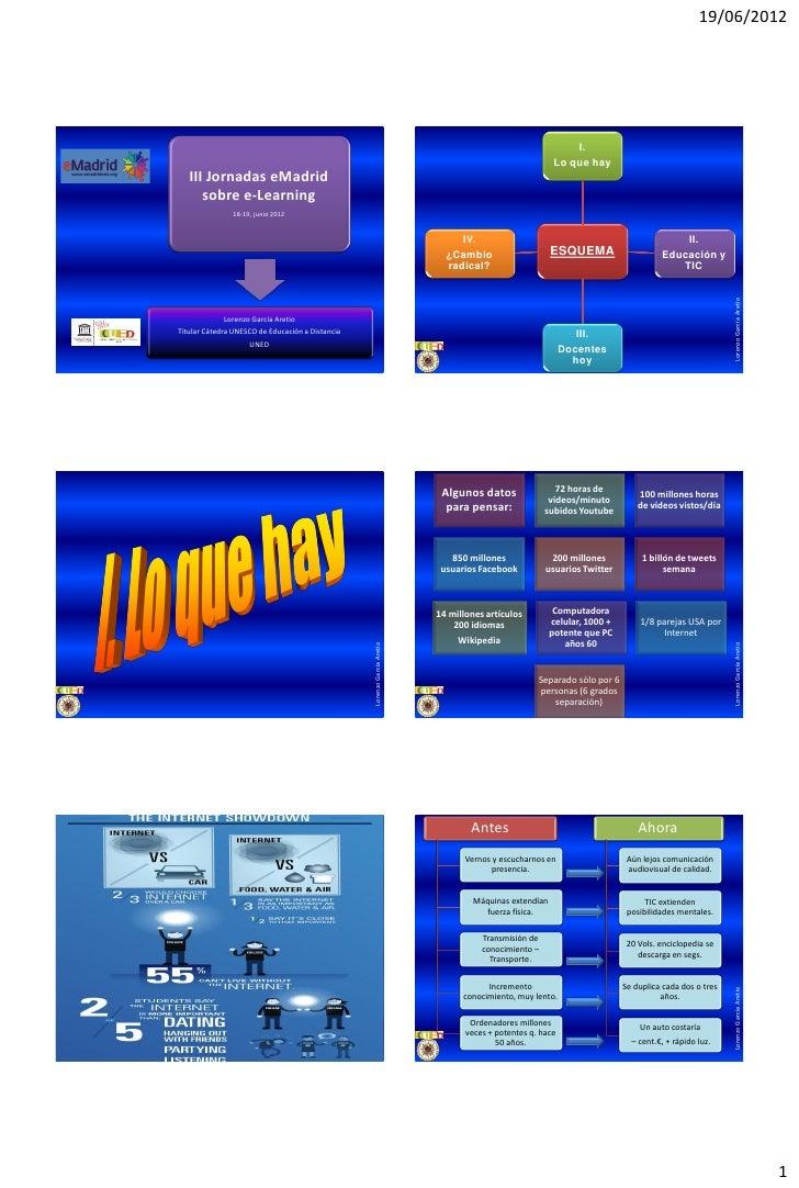 2012 06 18 (upm) emadrid lgareito uned e learning 2.0 cambio radical