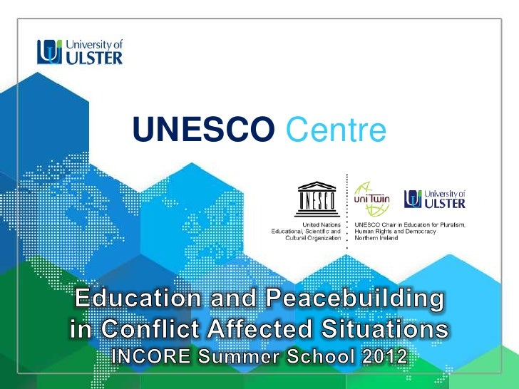 2012-06-21 Dr Mario Novelli presents at INCORE Summer School 2012