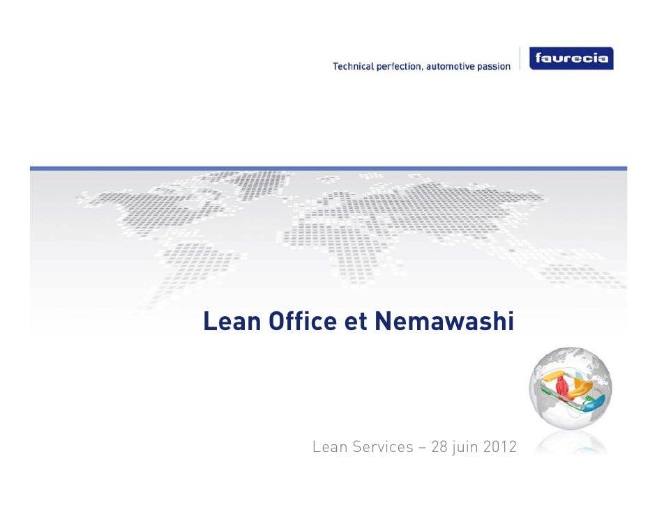 Nemawashi et lean office chez Faurecia