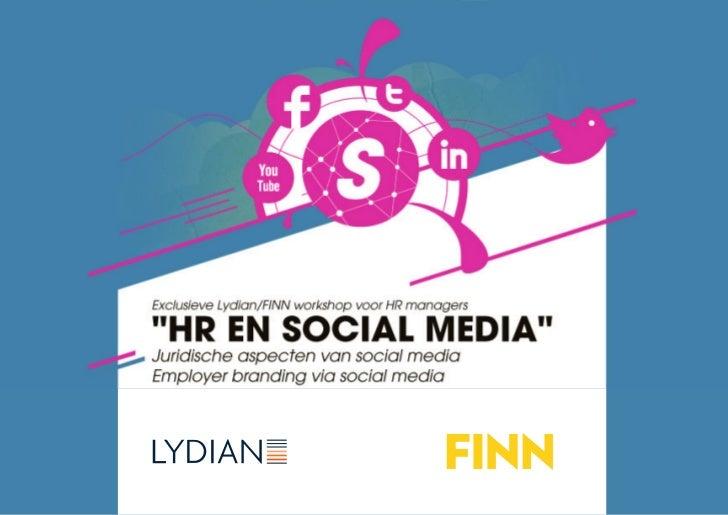 Seminar Lydian-FINN: Social Media & HR