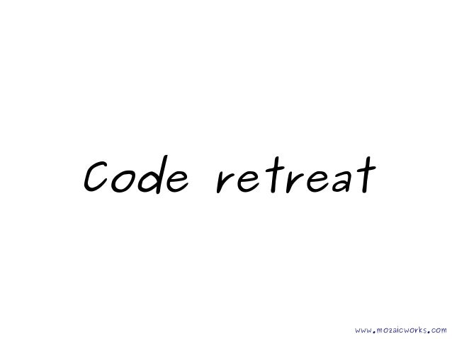 Coderetreat @AgileWorks Bucharest 2012 07 06