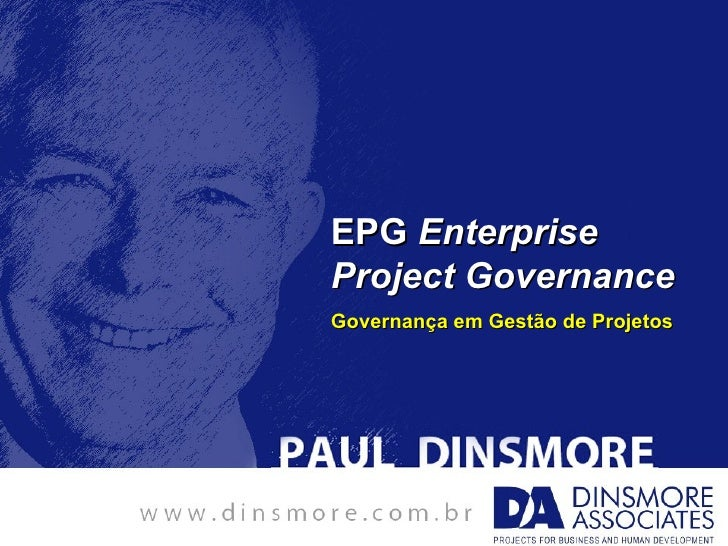 EPG EnterpriseProject GovernanceGovernança em Gestão de Projetos