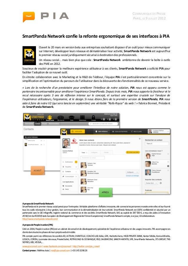 CP SmartPanda Network [ 7 juillet 2012 ]