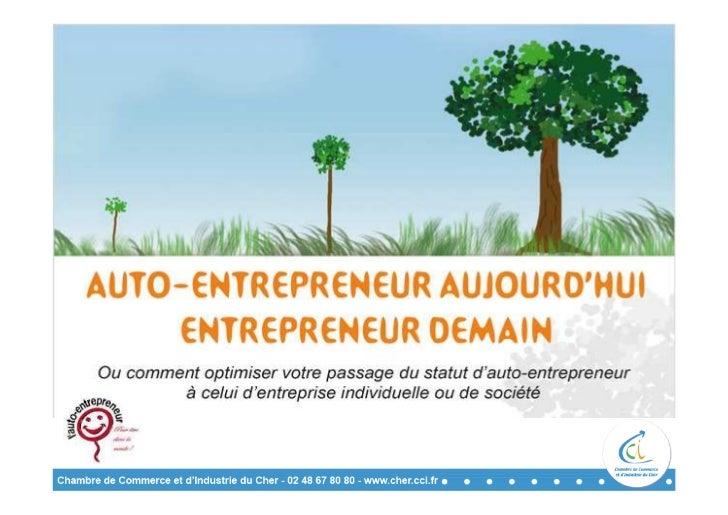 Auto-entrepreneur aujourd'hui, entrepreneur demain
