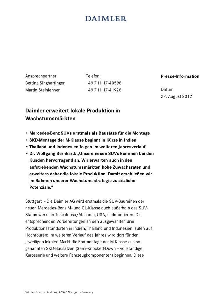 Ansprechpartner:                          Telefon:                    Presse-InformationBettina Singhartinger             ...