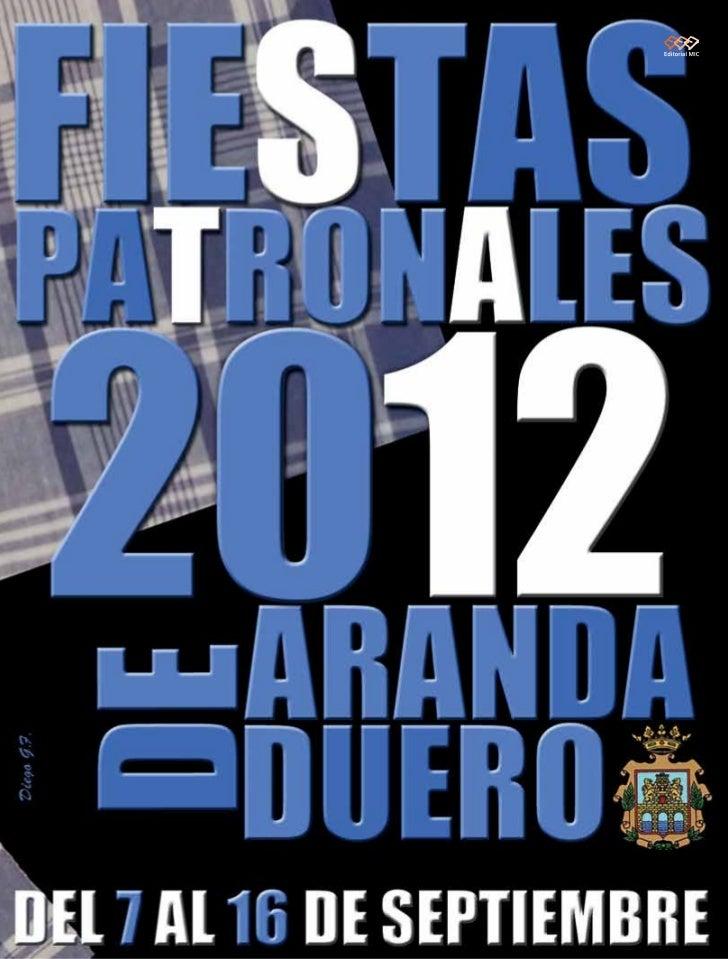 Programa de Fiestas de Aranda de Duero 2012
