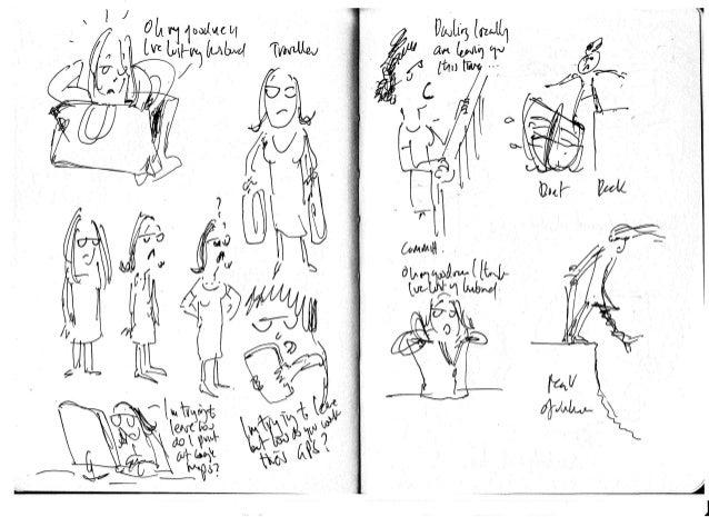 Divorce Shift Rough draft illustrations
