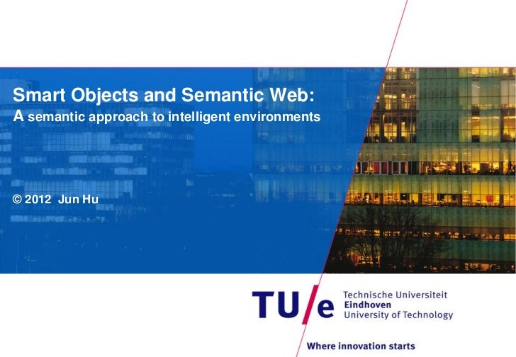 201209 smart objects and semantic web