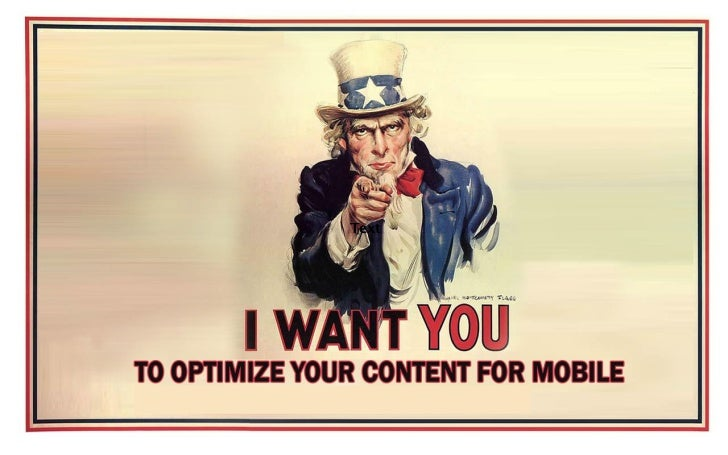 Uncle Sam Wants You (To Optimize Your Content For Mobile)