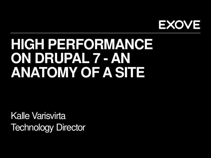High Performance on Drupal 7