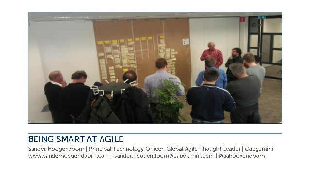 Being Smart at agile. A brief introduction to Capgemini's Accelerated Delivery Platform (ADP)