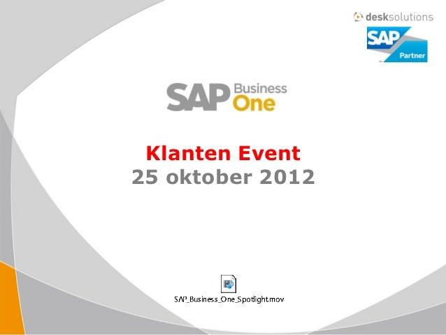 2012 10 25_sbo presentatie sap event
