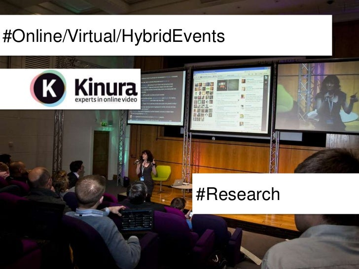 #Online/Virtual/HybridEvents                        #Research