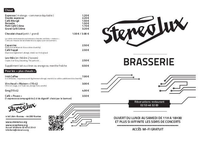 ChaudExpresso ( malongo - commerce équitable )                                                    1.20 €Double express...