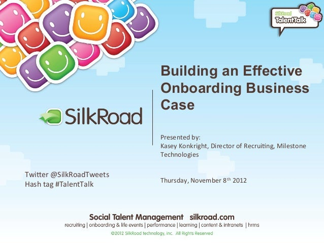 Building an Effective                                 Onboarding Business                                 Case            ...