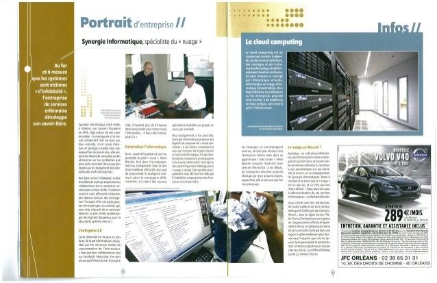201211123 la rep_top 200 des entreprises du loiret_synergie informatique spécialiste du nuage