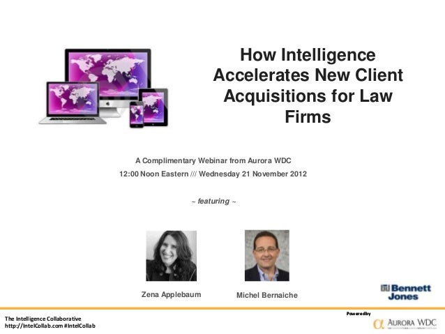How Intelligence Accelerates New Client Acquisitions for Law Firms