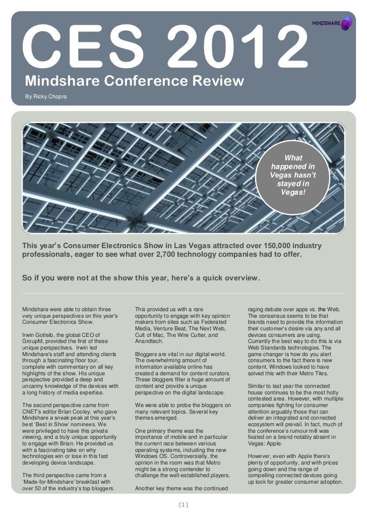 2012 1 16 mindshare digital report   ces 2012 report