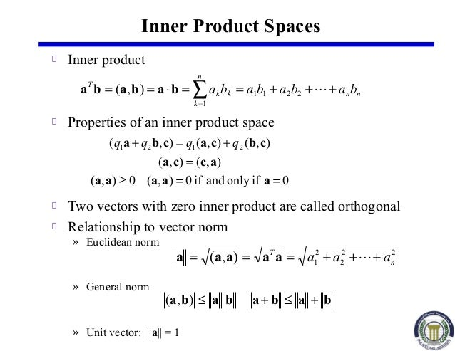 Norm of a vector in r
