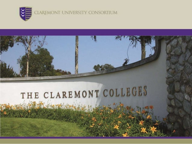 8          The Claremont CollegesIndependentInstitutions  Working Together inCollaboration
