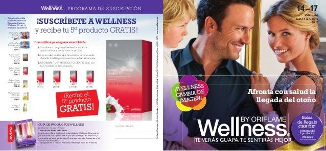 catálogo Wellness de Oriflame 14-17