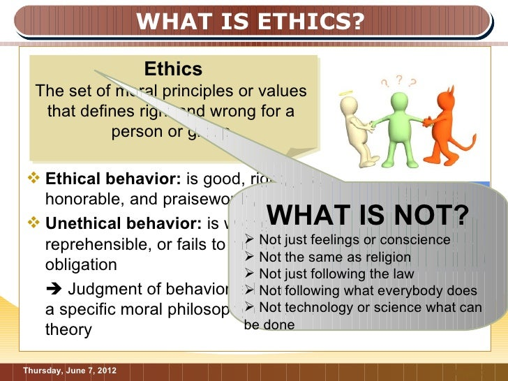 ethical versus unethical behaviour in negotiation