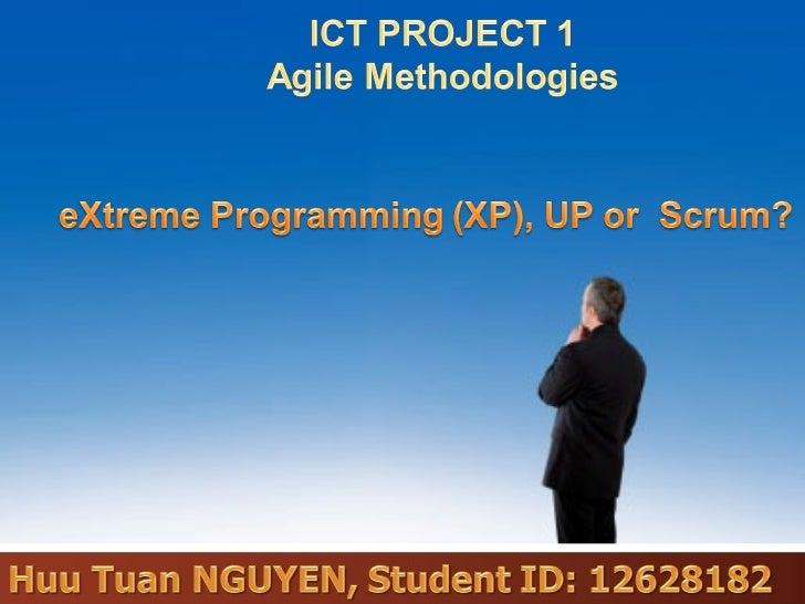 CONTENTS          1        Brief introduction to Agile methodologies          2        SCRUM Agile methodology          3 ...