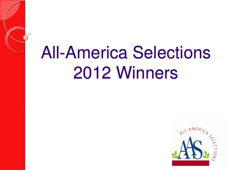 All-America Selections     2012 Winners