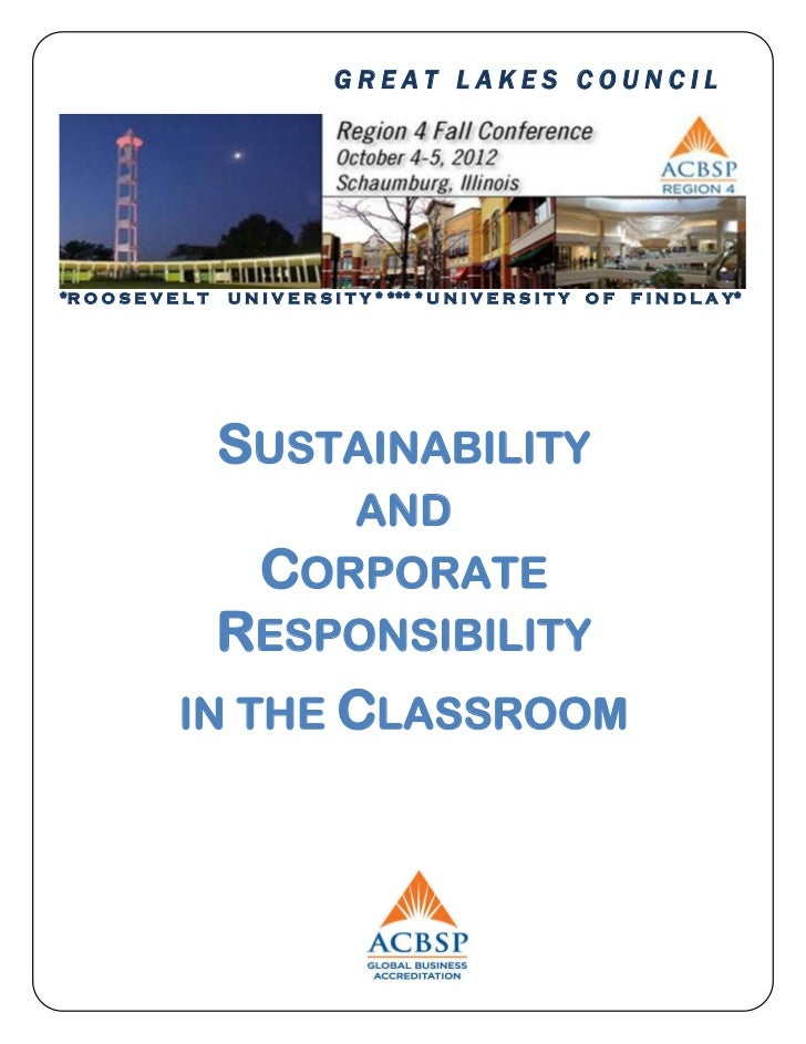 ACBSP Region 4 Conference 2012 Program