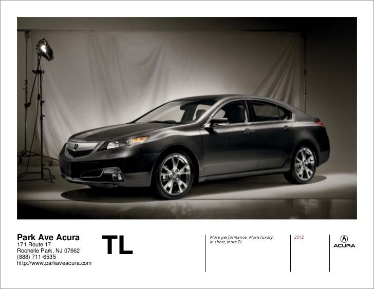 2012 Acura TL For Sale NJ | Acura Dealer in New Jersey