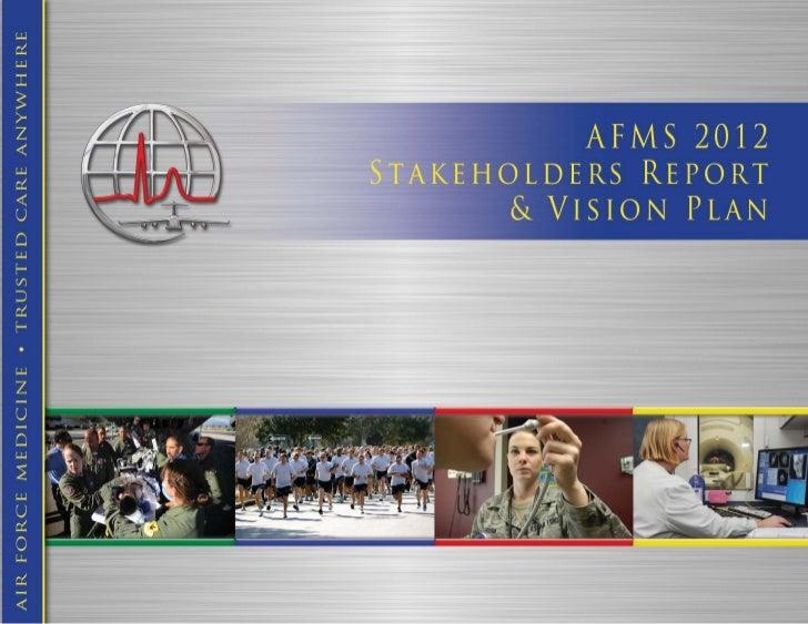 2012 AFMS Stakeholder Report
