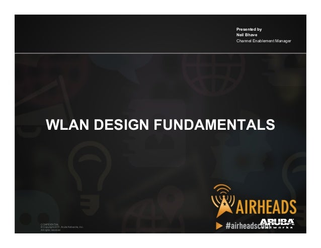 2012 ah apj   wlan design fundamentals