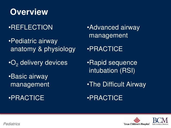 overview and impact of rapid sequence intubation Rapid-sequence intubation rapid-sequence intubation (rsi) is a process for quickly securing an airway in patients who are at risk for aspiration,.