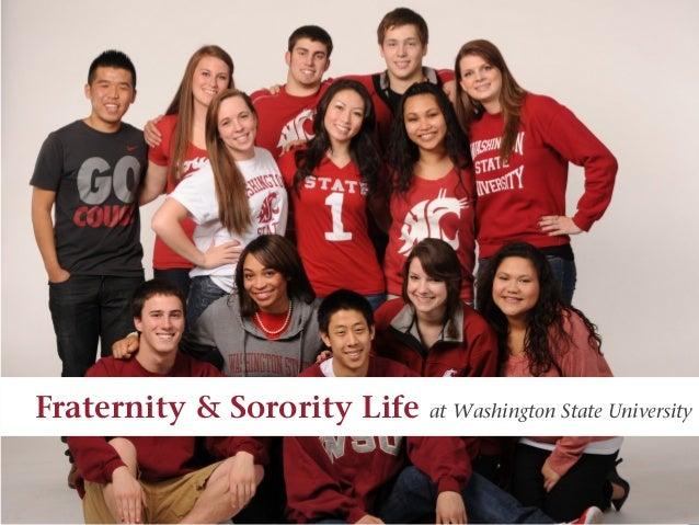 Fraternity & Sorority Life   at Washington State University
