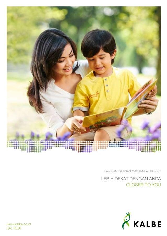 KALBE Annual Report 2012