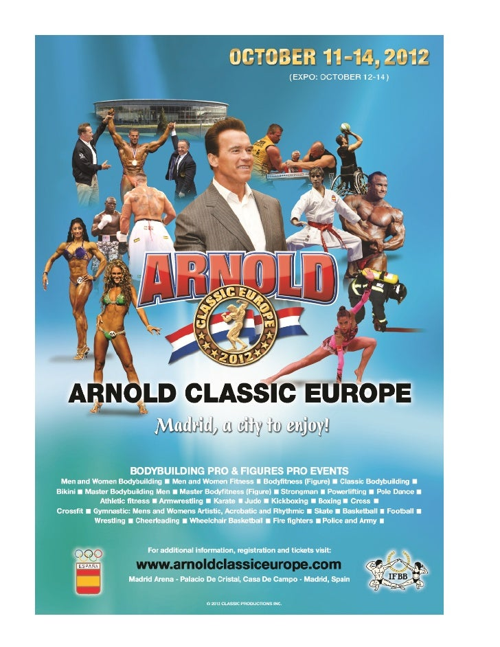 2012 arnold europe ir