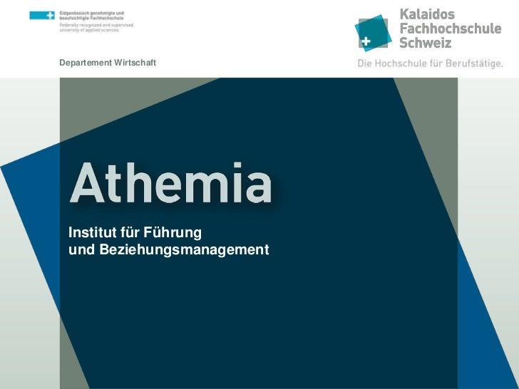 Athemia - Institut für Führung und Beziehungsmanagement