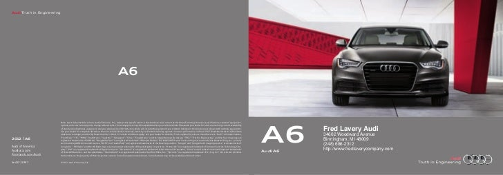 2012 Audi A6 For Sale MI   Audi Dealer Near Detroit