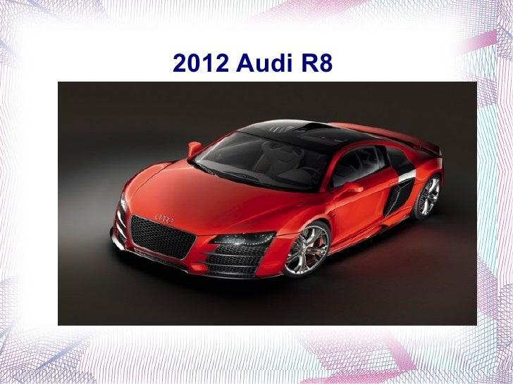 2012 Audi R8 in India