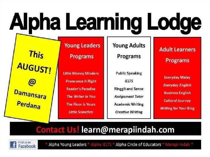 2012 Aug ~ New Programs & Services