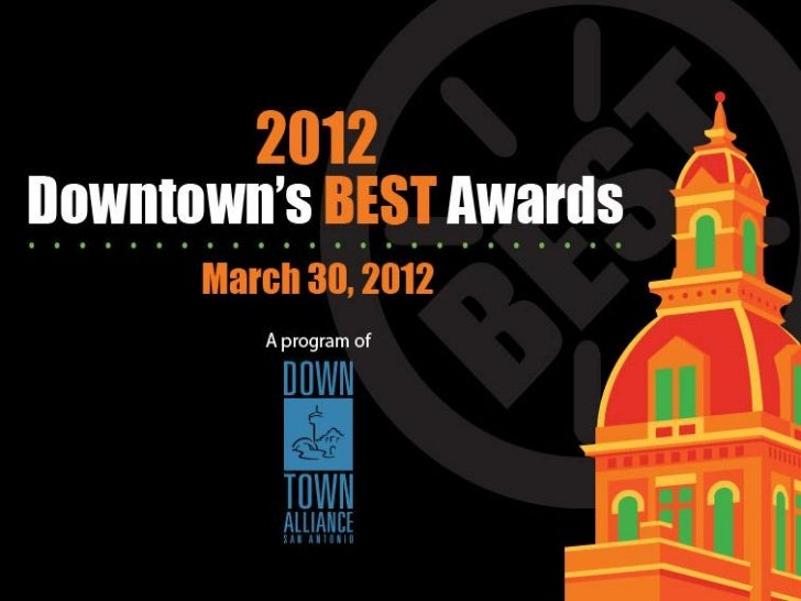 2012 awards presentation