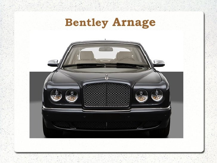 Bentley Arnage in India