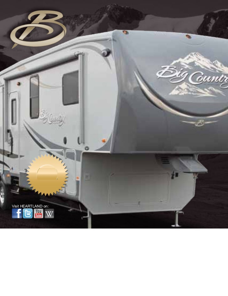 2012 Heartland Big Country Fifth Wheel