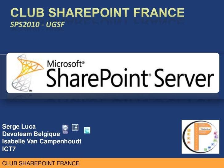 SharePoint 2010 and SQL Server 2012 Business Intelligence (Serge Luca, Isabelle Van Campenhoudt)