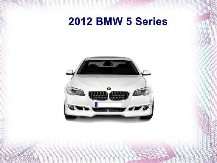 2012 BMW 5 Series in India