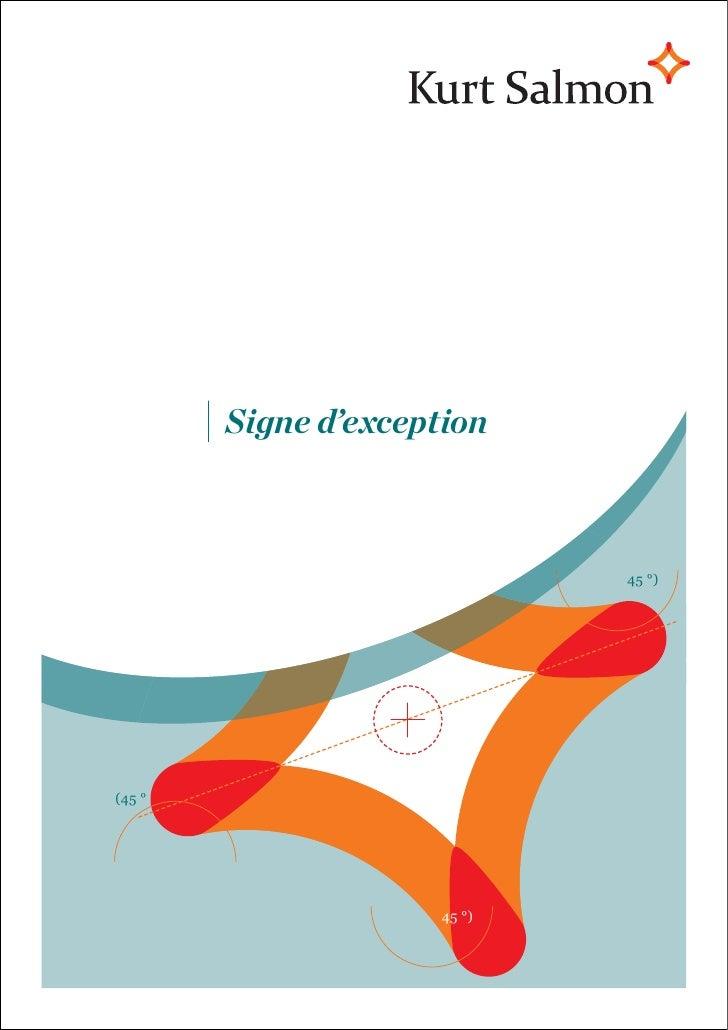Signe d'exception                             45 °)(45 °                     45 °)