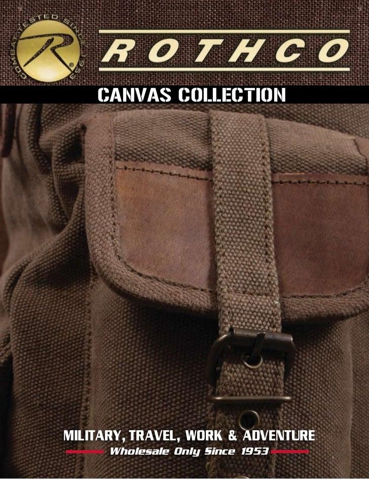 2012 Rothco Canvas Collection