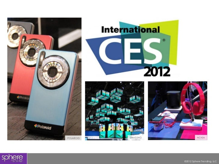 2012 CES Trend Report PREVIEW