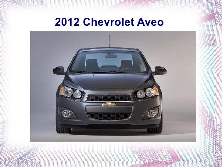 2012 Chevrolet Aveo in India